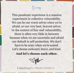 Brene Brown on Collective Vulnerability